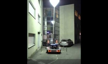 Présentation du Ballon éclairant LUMICONE + Remorque d'éclairage de chantier
