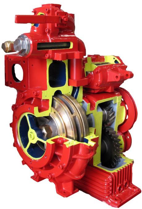 La gamme de pompes entrainées a été développé et conçu en tenant compte des nombreux besoins pour les utilisateurs de véhicules de protection contre les incendies, et combine les caractéristiques de haute efficacité et de fiabilité . Une large gamme de débit et une variété complète d'options. La bonne réponse pour tous les types de véhicules de secours et d'incendie .