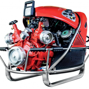Gasoline engine fire pump
