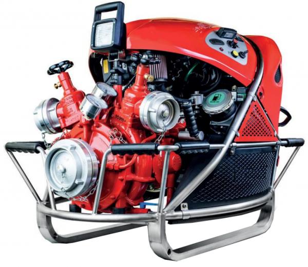 Motopompe incendie moteur essence