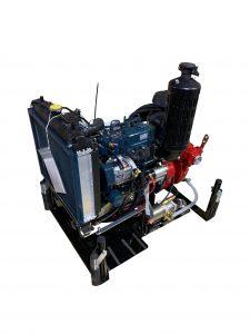 Pompe centrifuge mono turbine.