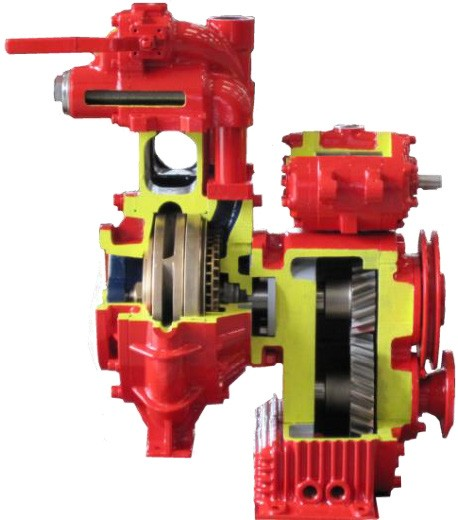 The range of driven pumps has been developed and designed taking into account the many needs for users of fire protection vehicles, and combines the features of high efficiency and reliability. A wide range of flow rates and a full variety of options. The right answer for all types of emergency and fire vehicles.