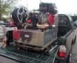 Kits d'extinction incendie avec pompe Haute pression avec citerne en INOX