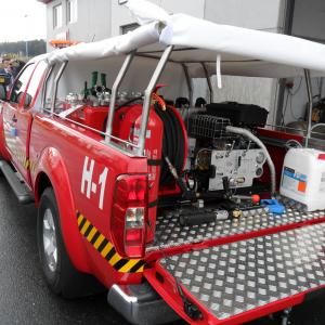 Kits incendie Haute pression – Citerne INOX en T