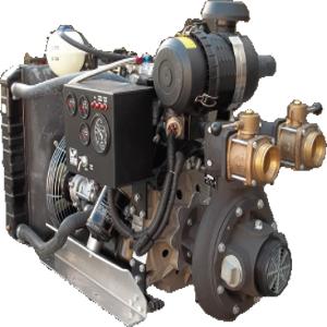 Motopompe incendie Diesel EFP-57VW- D