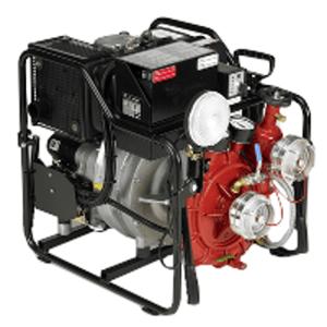 Thermal fire motor pump