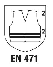 EN 471+A1 : 2008 Vêtements de signalisation à haute visibilité pour usage professionnel - méthodes d'essai et exigences