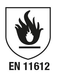 EN iso 11612 : 2009 Vêtements de protection contre les flammes et la chaleur émise par convec- tion et rayonnement - remplace la norme EN 531