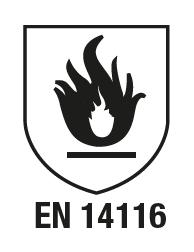 EN iso 14116 : 2009 Vêtements de protection contre la chaleur et à propagation de flamme limitée