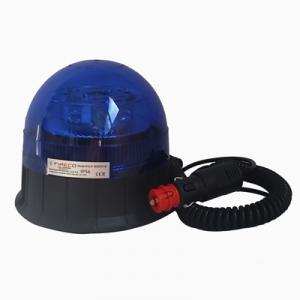 Feu tournant Bleu 17W LED