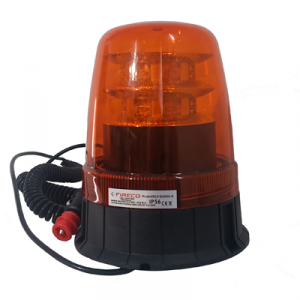 Feu tournant Orange 32W LED