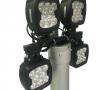 Rampe led 4 projecteurs 80W