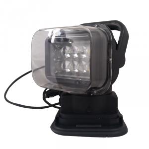 Phare d'éclairage LED 50W tounant télécommandé