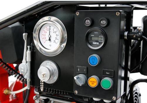 tableau de contrôle de motopompe à démarrage électrique