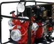 Motopompe incendie avec projecteur travail