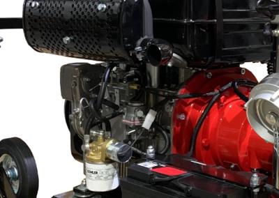 Transportable diesel pump