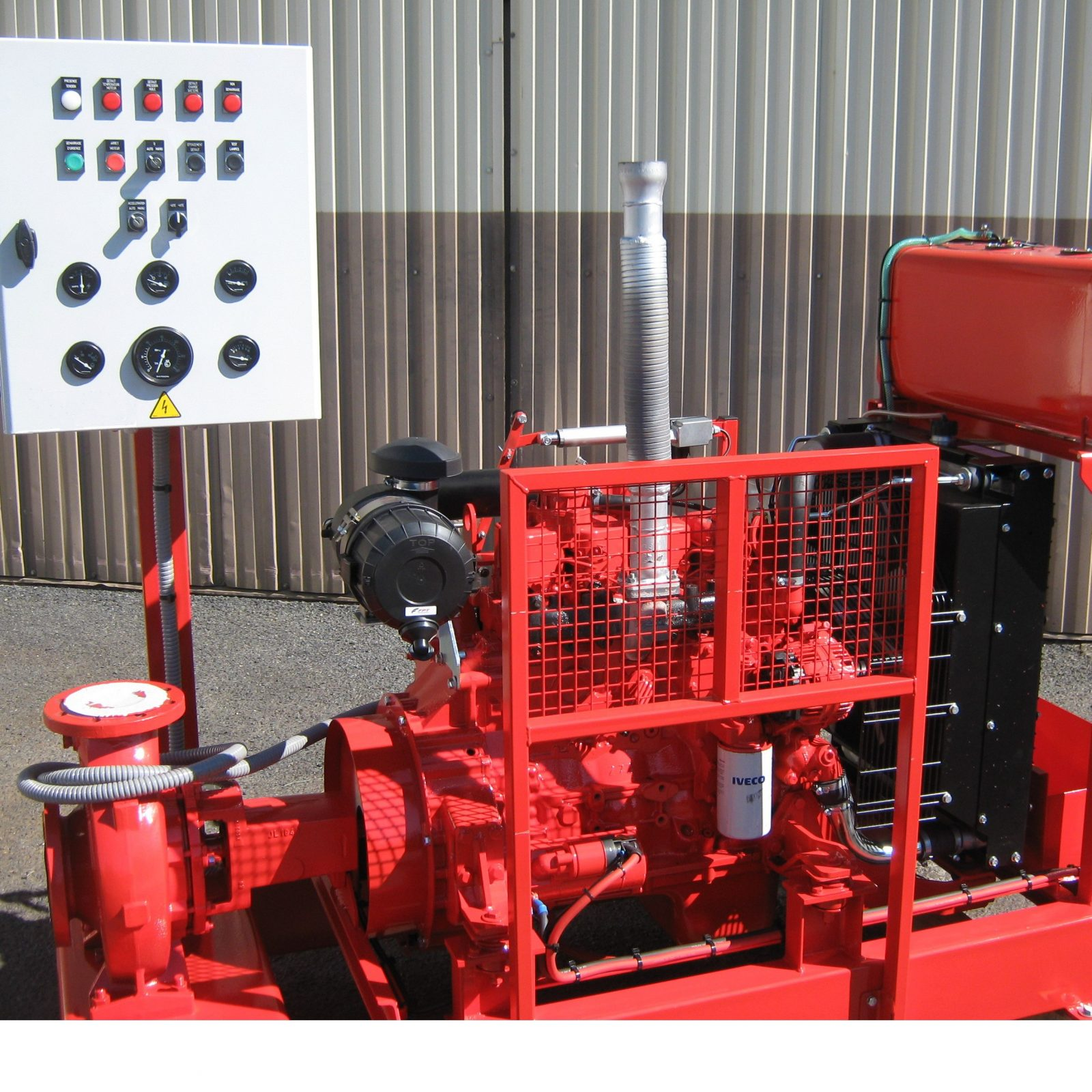 Groupe motopompe EFP-520-12diesel