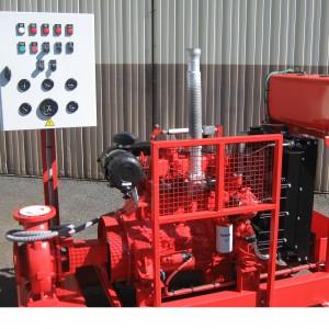 Motopompe incendie Diesel sur SKID EFP-520-12