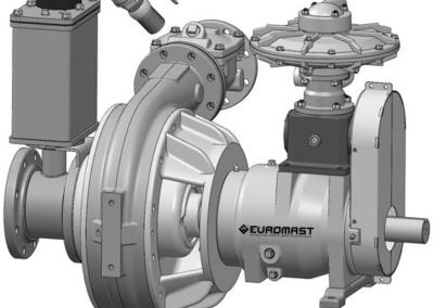 Pompe remorquable thermique EUROMAST