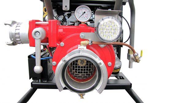 Motopompe incendie essence transportable