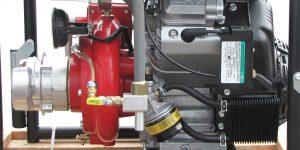 moteur de motopompe incendie
