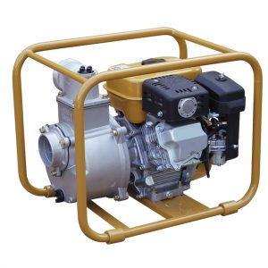 Motor pump exhaustion for loaded water