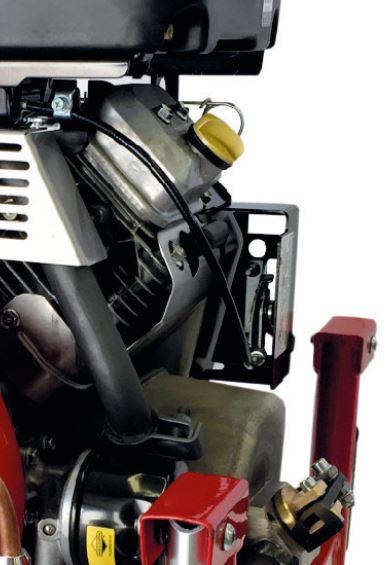 Details moteur motopompe incendie