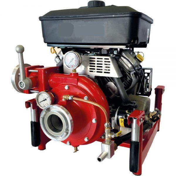 Motopompe incendie transportable
