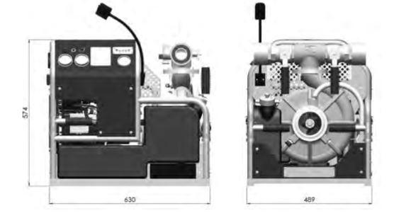 Fire motor pump