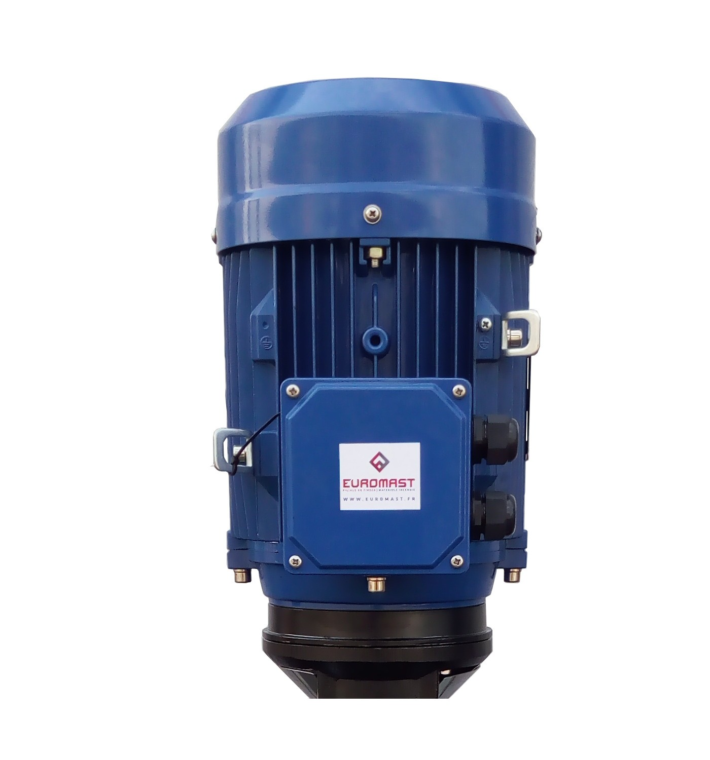 Electric motor pump for intervention