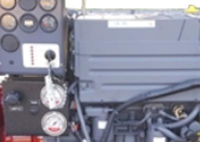 Deutz diesel engine fire engine