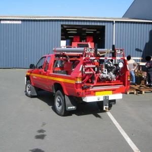 Kit Haute pression sur pick-up pompier