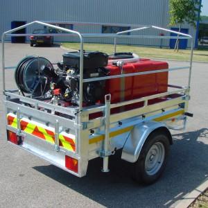 Kit incendie HP sur remorque