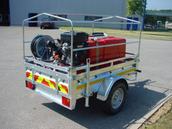Remorque incendie première intervention