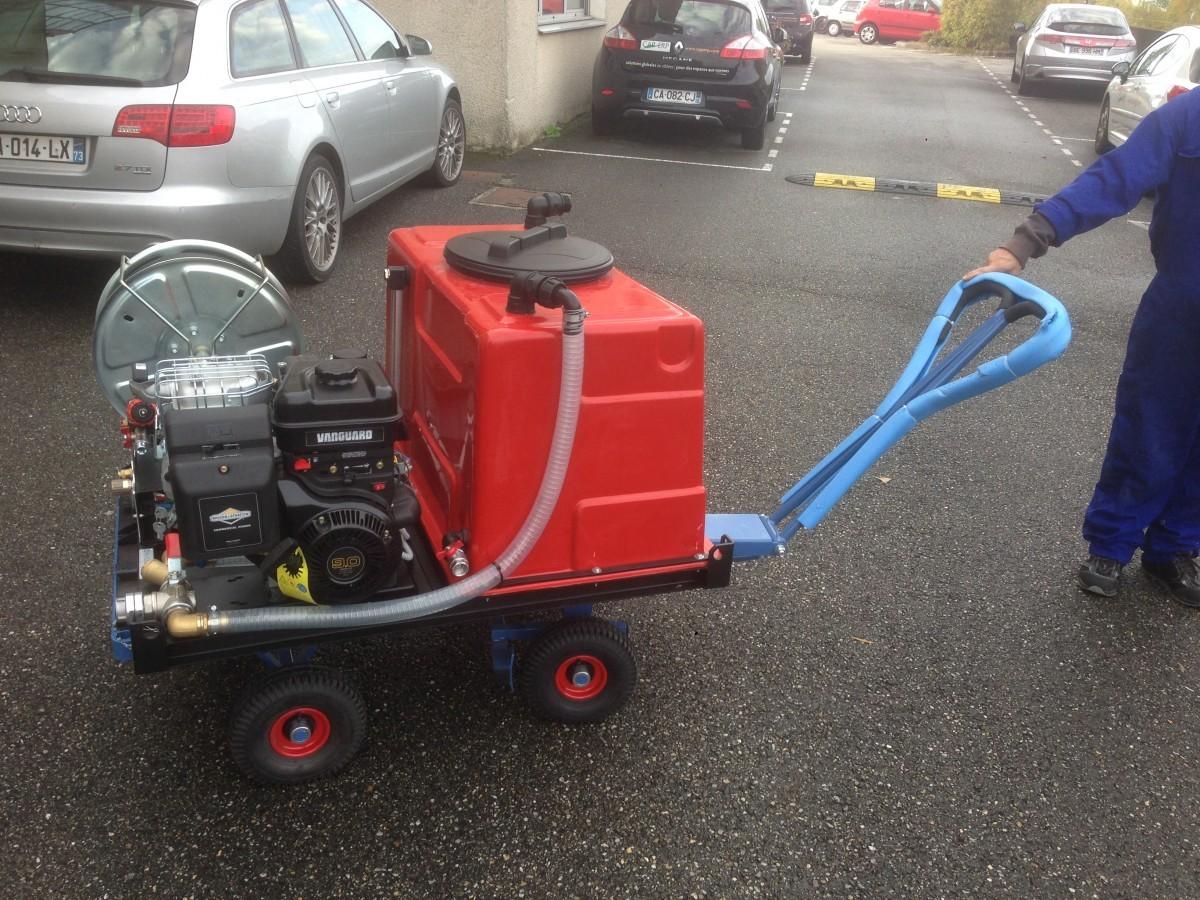 Kit incendie haute pression sur Chariot