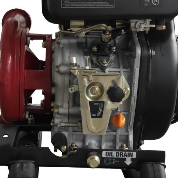 Motopompe incendie avec démarreur électrique
