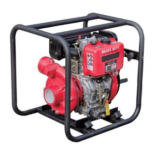 Motopompe diesel équipée de démarrage électrique