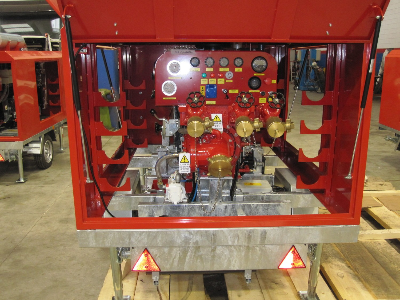 motopompe incendie remorquable