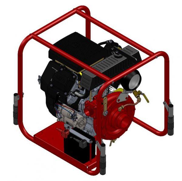 Motopompe incendie diesel