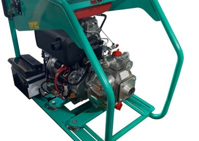 Self-priming diesel pump unit