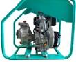Motopompe diesel équipée de démarreur électrique