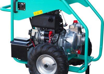 wheelbarrow diesel pump set