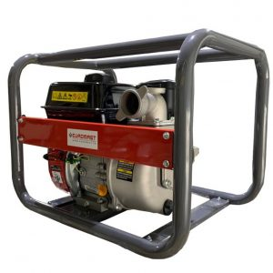 Self-priming gasoline pump