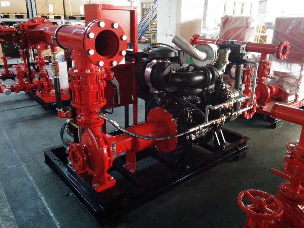 Groupe motopompe equipe de moteur iveco diesel