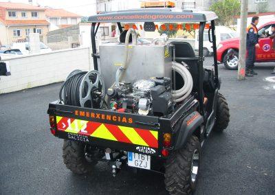 kit incendie haute pression sur Buggy