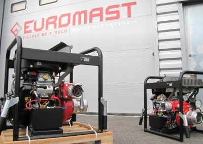 Pompe incendie portable essence