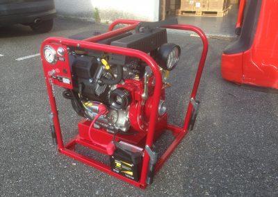 Pompe incendie transportable