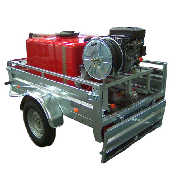 Kit incendie remorquable pompier