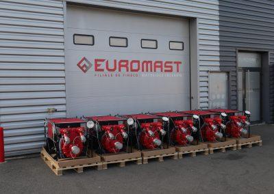 Motopompe incendie EUROMAST