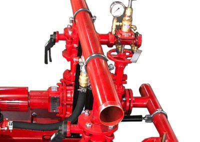 Pressure gauge for electric pump group